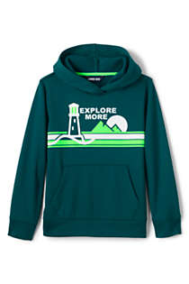 Little Boys Graphic Tricot Pullover Hoodie Sweatshirt, Front