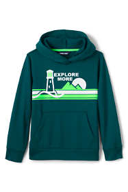 Boys Graphic Tricot Pullover Hoodie Sweatshirt