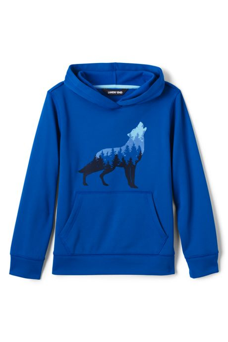 Little Boys Graphic Tricot Pullover Hoodie Sweatshirt