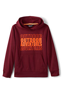 Boys Husky Graphic Tricot Pullover Hoodie Sweatshirt, Front