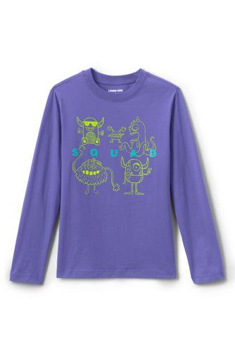 T-Shirt Graphiques Manches Longues, Petit Garçon
