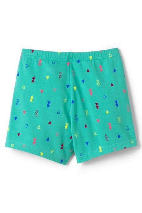 Little Girls Pattern Cartwheel Shorts
