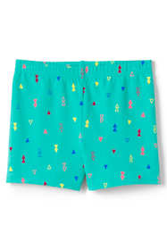 Girls Plus Size Pattern Cartwheel Shorts