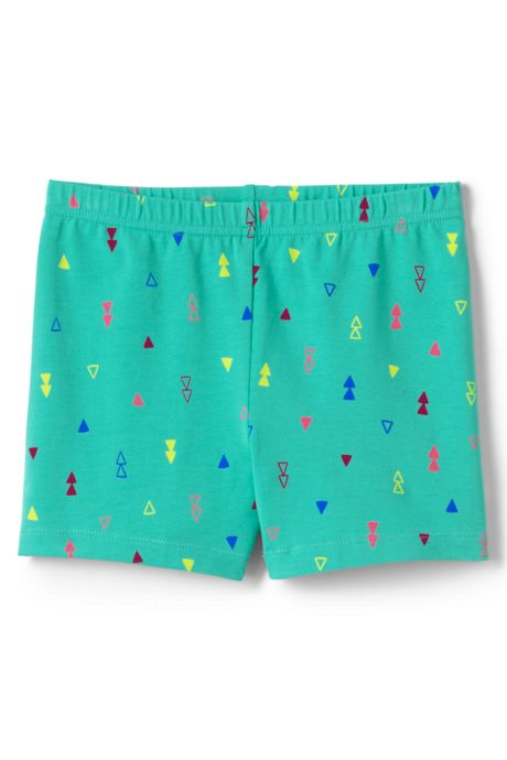 Little Girls Pattern Cartwheel Shorts