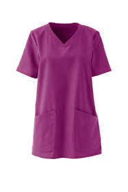 Women's Plus Size Scrub Top