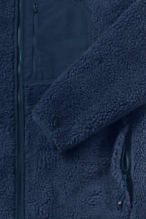 Men's Tall Sherpa Fleece Jacket, alternative image