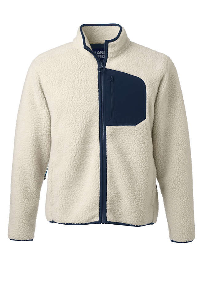 Men's Sherpa Fleece Jacket, Front