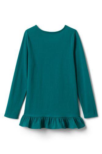 Girls Long Sleeve Graphic Tunic Top