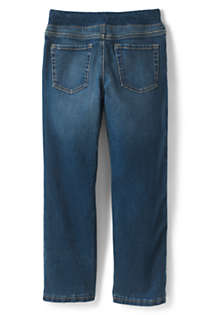 Laus Boys Pull on Jeans Warm Winter Denim Trousers with Fleece Lining