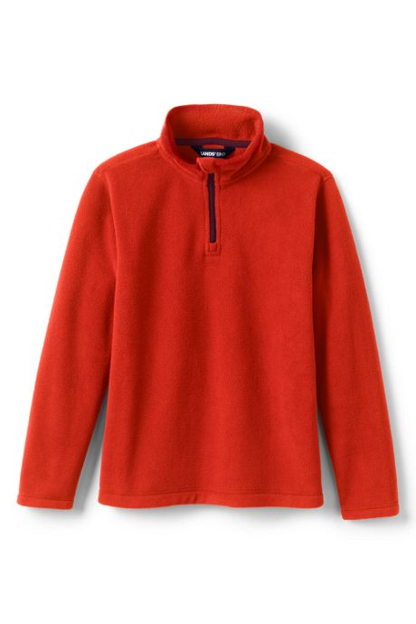 Little Kids Fleece Half Zip Sweater