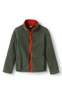 Kids' Sherpa Fleece Jacket