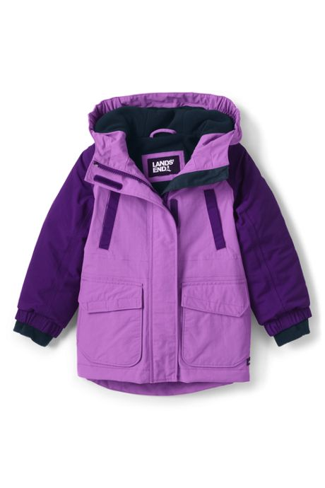 Toddler Girls Squall Waterproof Winter Parka