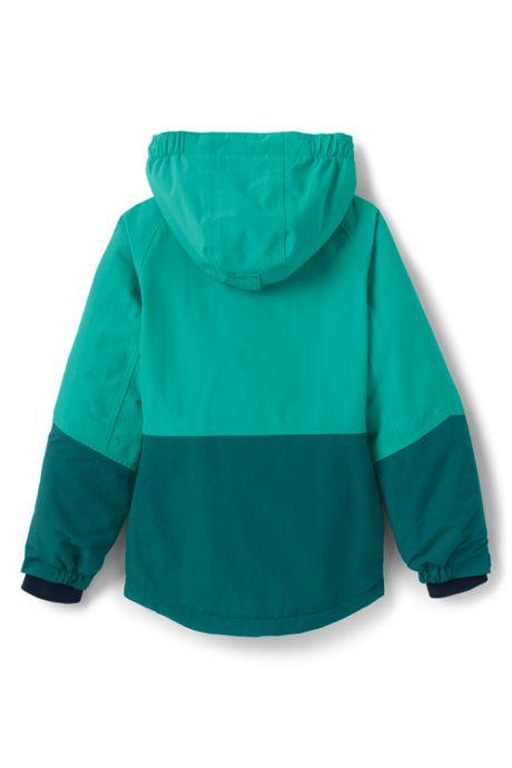 School Uniform Girls Squall Waterproof Winter Jacket