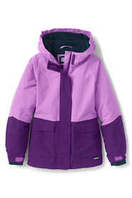 School Uniform Girls Squall Waterproof Winter Jacket