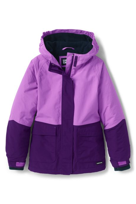 Girls Squall Waterproof Winter Jacket