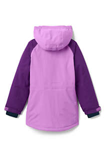 Girls Plus Squall Waterproof Winter Parka, Back