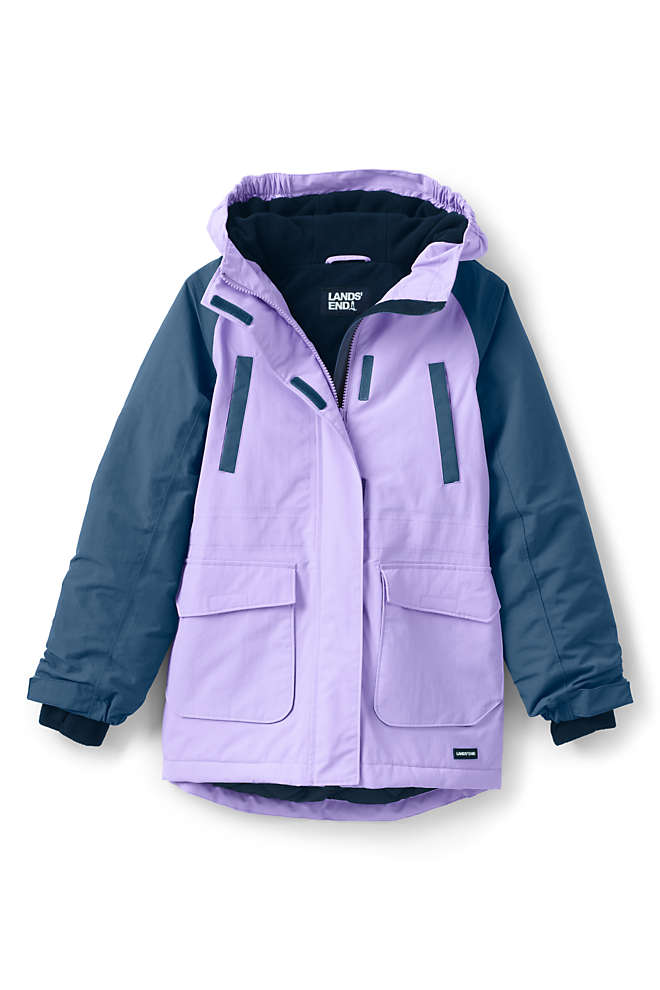 Girls Squall Waterproof Winter Parka, Front