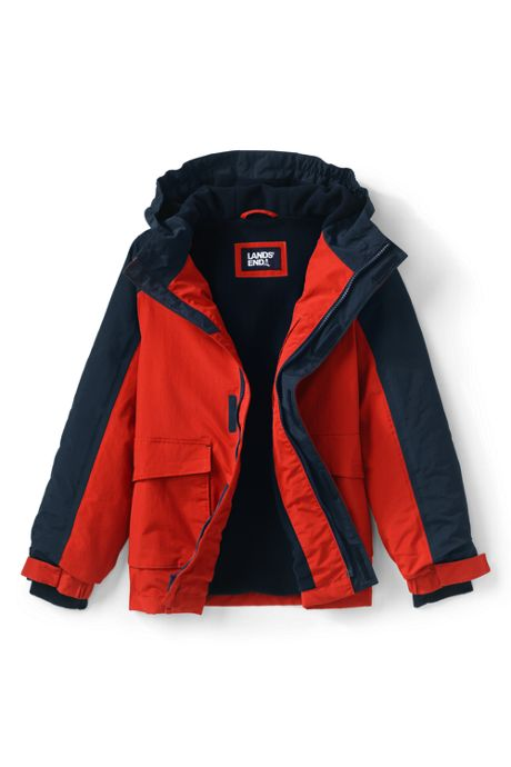 School Uniform Little Boys Squall Waterproof Winter Jacket