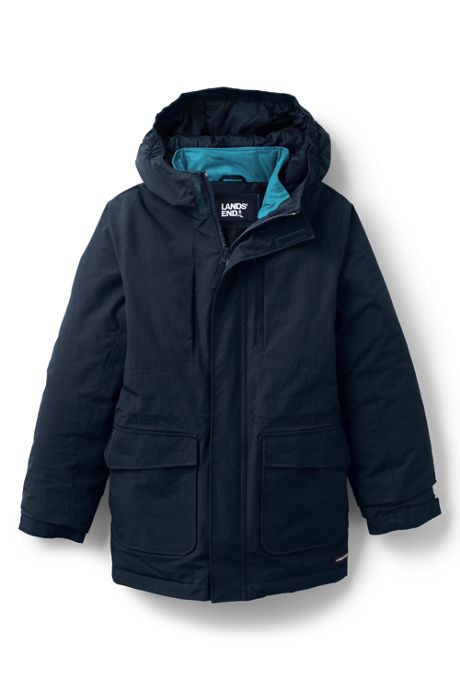 School Uniform Kids Husky-Plus Squall 3 in 1 Waterproof Winter Parka