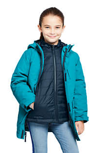 Kids Squall 3 in 1 Waterproof Winter Parka, Front