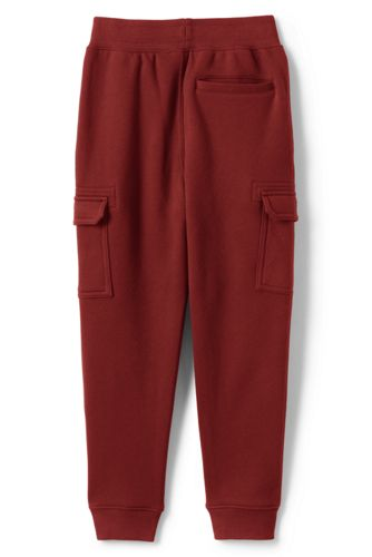 Little Boys Iron Knee Cargo Jogger Sweatpants