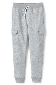 Boys Husky Iron Knee Cargo Jogger Sweatpants