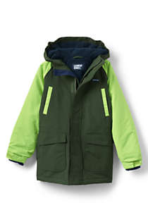 Toddler Boys Squall Waterproof Winter Parka, Front