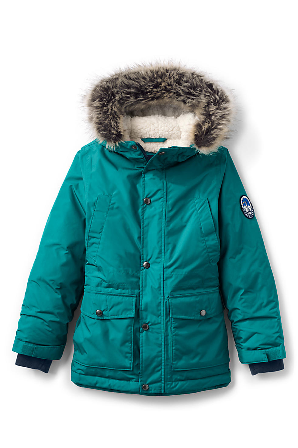 Lands End Kids Expedition Down Winter Parka