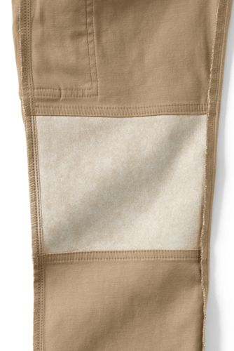 Boys Slim Iron Knee Stretch Pull On Cargo Pants