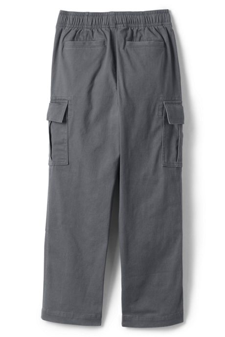 Boys Iron Knee Stretch Pull On Cargo Pants