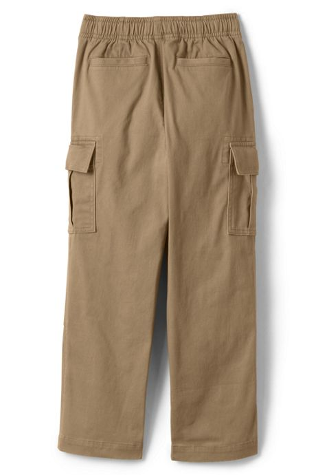 Boys Husky Iron Knee Stretch Pull On Cargo Pants