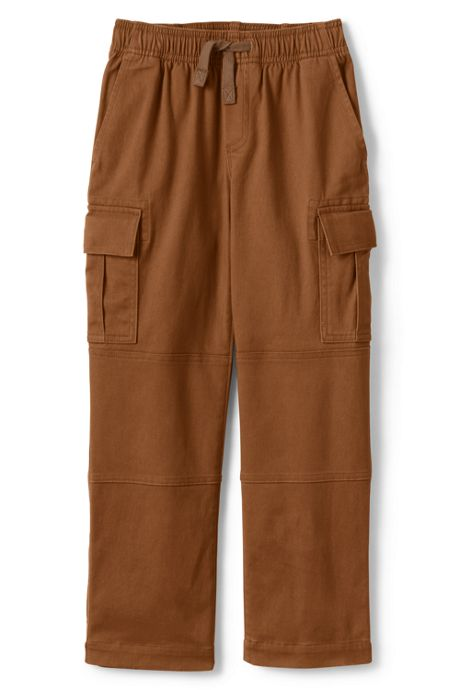 Little Boys Iron Knee Stretch Pull On Cargo Pants