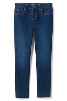 Iron Knees Skinny Jeans mit Fransensaum für Mädchen