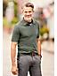 Stückgefärbtes Super-T Langarm-Poloshirt für Herren, Classic Fit