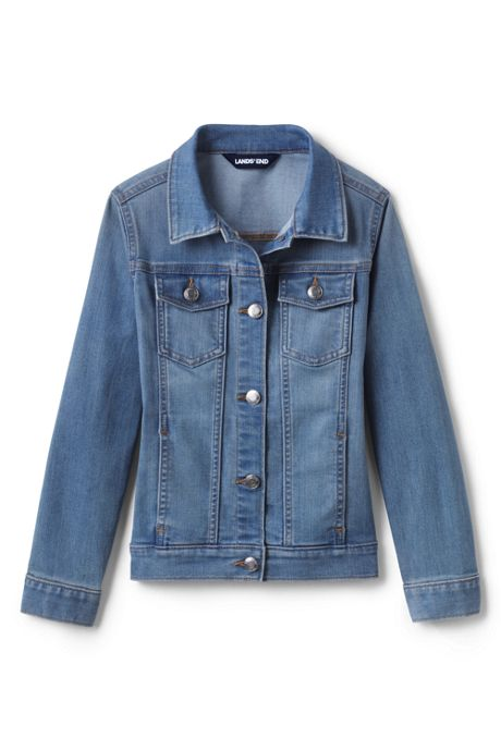 Girls Plus Size Denim Jacket