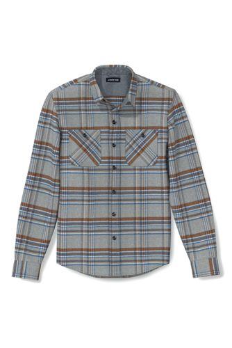 Men's Flannel Work Shirt