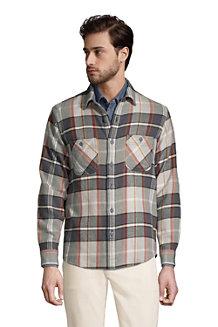 Flanell-Workerhemd für Herren, Classic Fit