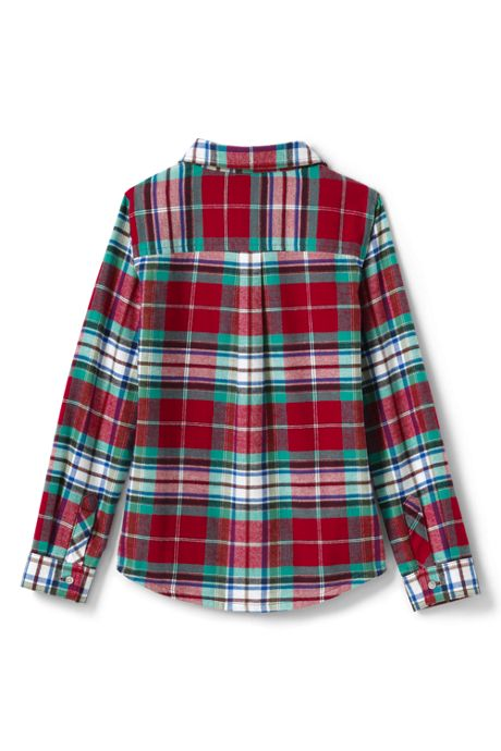 Girls Flannel Shirt