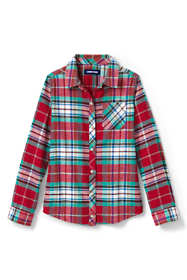 Toddler Girls Flannel Shirt
