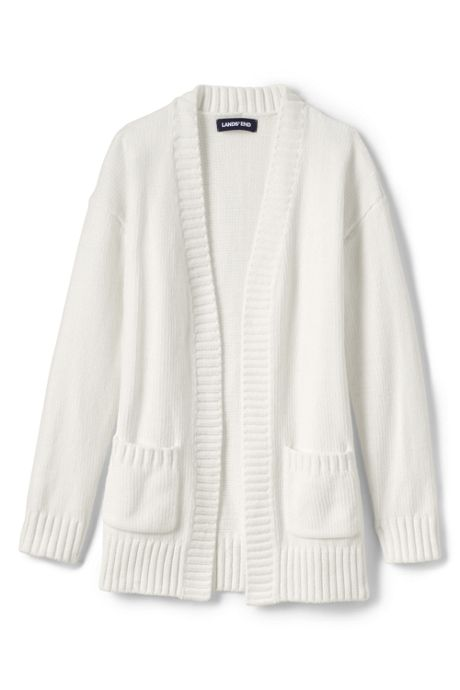 Little Girls Chenille Open Cardigan Sweater