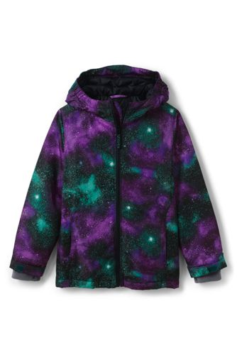 Little Kids' Patterned Water Resistant Insulated Jacket