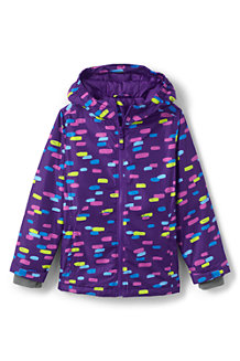 Kids' Patterned Water Resistant Insulated Jacket