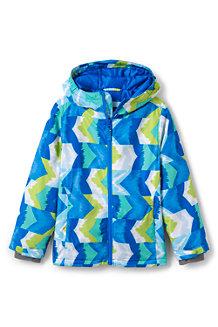 Wattierte Jacke für große Kinder Gemustert