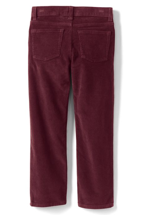Boys Stretch 5 Pocket Corduroy Pants