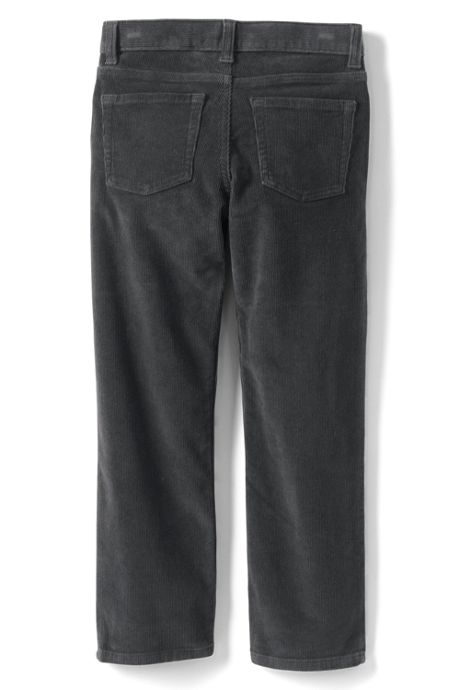 School Uniform Boys Stretch 5 Pocket Corduroy Pants