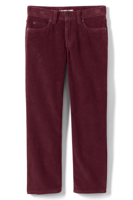 Little Boys Slim Stretch 5 Pocket Corduroy Pants