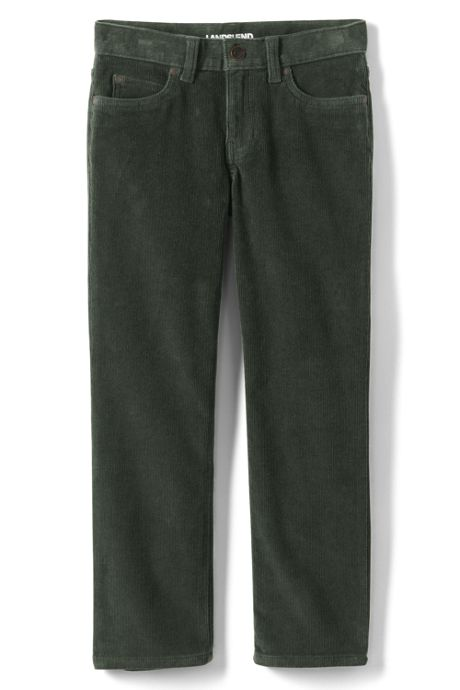 Boys Slim Stretch 5 Pocket Corduroy Pants