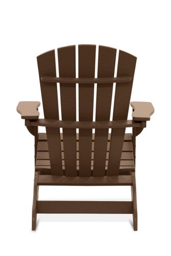 All-Weather Recycled Fan Back Adirondack Chair