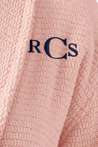Women's Petite Cotton Terry Long Spa Bath Robe