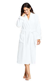 Women's Cotton Terry Long Spa Bath Robe